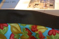Make Your Own Leather Tote Tutorial - Addicted 2 DIY