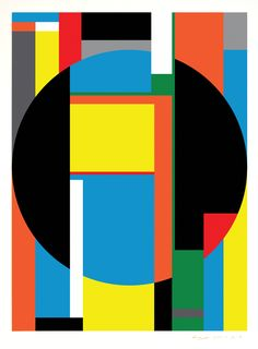 Composition Art | ... Artist Bryce Hudson – Geometric Abstraction Art – Untitled #18
