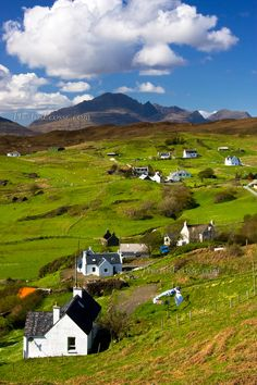 Tarskavaig in Springtime. Isle of Skye, Scotland. Skye Scotland, Scotland Travel, Highlands Scotland, Scottish Highlands, Huron County, Places In Scotland, Beautiful Places, Amazing Places, Great Britain