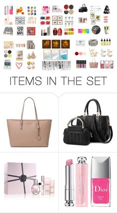 """Seasonal Gift Sets"" by got-bts ❤ liked on Polyvore featuring art"
