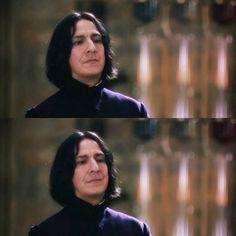 Harry Potter Style, Harry Potter Anime, Harry Potter Fandom, Harry Potter Characters, Alan Rickman Movies, Alan Rickman Severus Snape, Snape And Hermione, Draco Malfoy, Snape Always