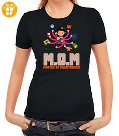 Geschenkidee Damen T-Shirt mit Mom - Master Of Multitasking Motiv von  ShirtStreet, Größe