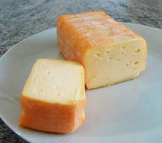 """Limburger, or """"the cheese that smells like stinky feet."""" Hahaha. Have to say that I really like it, but then again, I have yet to meet a cheese I didn't like. :)"""