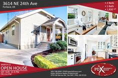 *** OPEN HOUSE *** | MARCH 9-11 | FRI 4-6 PM | SAT-SUN 11-5 PM | 3614 NE 24th Ave | Portland OR | 2 Beds | 1 Bath | 1,830 |SqFt#PDXPropertyGroup #OpenHouse #PortlandOregon #PortlandRealEstate #OregonHomes #OregonProperty #ForSale #RealEstate #HouseHunter #DreamHouse #House #HouseHunting #CurbAppeal #Investment #HomeSweetHome #HomeBuyers #HomeForSale #HomeSearch #PropertyForSale #PropertyInvestment #Realty
