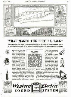 retro vintage modern hi-fi: Western Electric