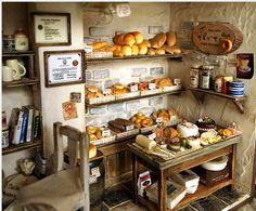 www.behance.net/gallery/The-Bakery-Vintage-Country-small-bread-shop-Miniature/3585689