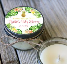New Free tropical Baby Shower Favors Concepts There are plenty of concepts for baby themes or templates along with we are witnessing quite a few sweet and d.