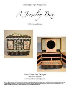 A Jewelry Box Pattern Cover