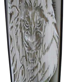 Combi Cut and Fold Roaring Lion