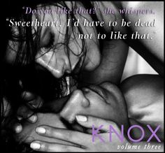 Proves he's alive - Knox by Cassia Leo