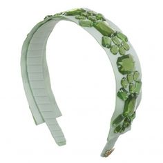 Headband by Sereni & Shentel. The Queen in Mint. Made in Borneo. Shop here: http://sereniandshentel.com/the-queen/703-mint.html $67