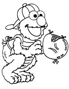 math coloring sheets : Elmo Coloring Pages Printcoloring Pages ...