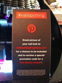 Pinterest Spotting: Seen at Sephora! #Pinterest #Sephora