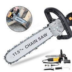 [US$82.99] 220V 650W Electric Chain Saw Angle Grinder Chain Saw Bracket Set Chainsaw Bracket Woodworking Tool #220v #650w #electric #chain #angle #grinder #bracket #chainsaw #woodworking #tool