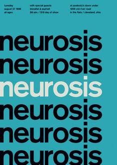 #Neurosis neurosis neurosis #poster #print