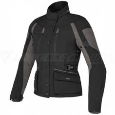 Dedicated to female touring riders in search of functionality and comfort, even when encountering bad weather along the way, with a fit specially designed for the female body, Temporale has a breathable waterproof D-Dry® membrane, removable thermal lining and air inlets on chest and sides, for correct temperature regulation.