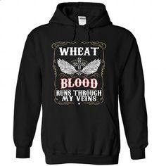 (Blood001) WHEAT - #funny shirt #tshirt typography. PURCHASE NOW => https://www.sunfrog.com/Names/Blood001-WHEAT-timfwozyuh-Black-50679935-Hoodie.html?68278