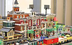 Cladiri din oraselul LEGO