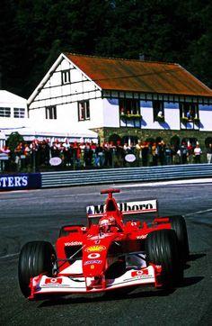 ————— Ferrari ———— Michael Schumacher  ——————