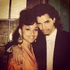 Chante Moore & El Debarge '89