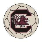 Ncaa University of South Carolina Cream (Ivory) 2 ft. 3 in. x 2 ft. 3 in. Round Accent Rug