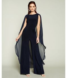 Ericdress supplies latest styles wedding dresses & party occasion dresses for women. Buy quality fashion clothing for kids in our online store with big discounts. Jumpsuit Dressy, Cape Jumpsuit, Chiffon, Jumpsuits For Women, Winter Jumpsuits, Rompers For Teens, Long Jumpsuits, Designer Jumpsuits, Moda Vintage
