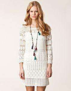 Crinochet: Boss Orange Crochet Dress