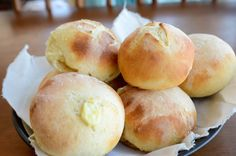 Bread And Pastries, I Love Food, Good Food, Yummy Food, Churros, Our Daily Bread, Pastry Recipes, Dinner Rolls, Creative Food