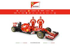 Scuderia Ferrari F14 T.  All the F1 cars have the odd front per the new regs for the 2014 season.   #ferrari #f1