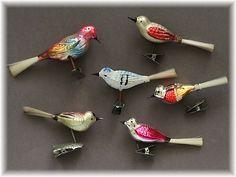 Die 69 Besten Bilder Von Christmas Birds Of Glass Christmas Bird