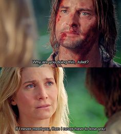 Juliet + Sawyer I loved them, and I cried so much when she died... as well as when they got reunited