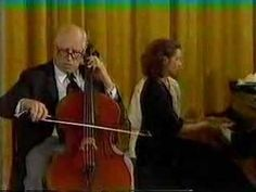 "Rostropovich Popper Dance of the Elves. Makes me wish I played the cello!  ""Explain to me please why in our literature and art so often people absolutely incompetent in the field have the final word.""   ― Mstislav Rostropovich"