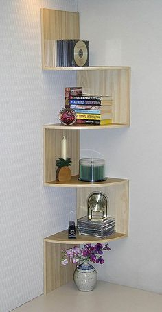 Marvelous Useful Tips: Floating Shelves Next To Tv Small Spaces floating shelf design mirror.Staggered Floating Shelves Home floating shelves kitchen chic.Floating Shelves Next To Tv Stand. Corner Furniture, Kitchen Furniture, Home Furniture, Furniture Design, Furniture Storage, Maple Furniture, Furniture Dolly, Wooden Furniture, Furniture Projects