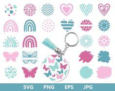 Keychain Design, Diy Keychain, Leather Keychain, Disney Silhouette Art, Cricut Tutorials, Cricut Ideas, Cricut Design Studio, Acrylic Keychains, Cricut Craft Room