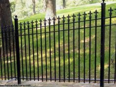 wrought iron fence - Google Search                              …