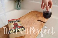 Reclaimed Wood Bathtub Tray, Wine Glass Holder, Bathtub Caddy, Bath Tub Shelf…