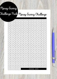 365 Day Challenge, Savings Challenge, Money Saving Challenge, Savings Plan, Saving Money, Livre Amazon, Expense Tracker, Budgeting 101