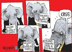 Trump Book, Funny Political Cartoons, The Week Magazine, Free Cartoons, Satire, Current Events, Death, Hilarious, Politics