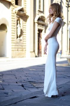 Maxi Style Wedding Dresses in White Color | NationTrendz.Com