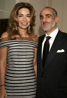 HRH Princess Ghida Talal and HRH Prince Talal of Jordan