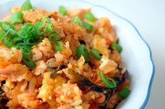 CozyBogie's Kimchi Fried Rice Kimchi Fried Rice, Risotto, Favorite Recipes, Fresh, Dishes, Ethnic Recipes, Food, Tablewares, Eten