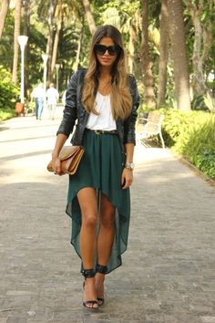 love the skirt color!