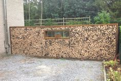 houtopslag wood storage