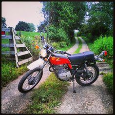 My xl350 #vintage #honda