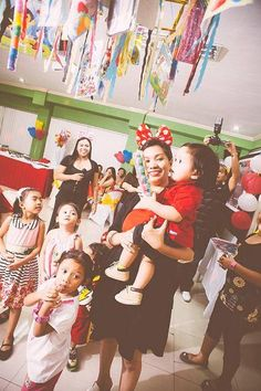 """Photo 3 of 52: Mickey Mouse / Birthday """"It's Damian John's 1st Birthday Party"""" 