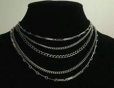 Vintage Coro Multi Strand Egyptian Style Classy Gold Collar Choker Adj Necklace #Coro