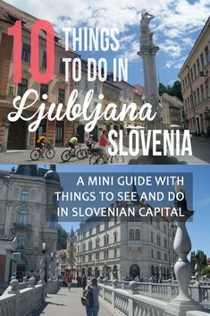 What to do in Ljublj