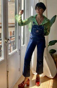 how to wear sheer tops: maria bernad Look Fashion, Fashion Beauty, Autumn Fashion, Fashion Rings, Retro Fashion, Mode Outfits, Fashion Outfits, Mode Pop, Mode Inspiration