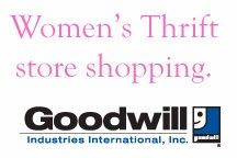 """How I shop for women's clothing at Goodwill (or other Thrift stores) including brands I pick (because they hold up well, not because I'm a """"brand"""" gal)."""