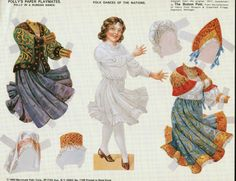 Image result for Polly's Paper Playmates